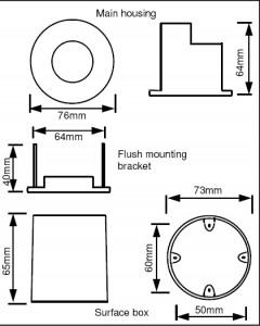 EBDSPIR Dimming Ceiling Detector