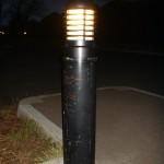 Indoor Tennis Club Driveway Lighting