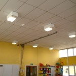 School Hall benefits from Induction Luminaires