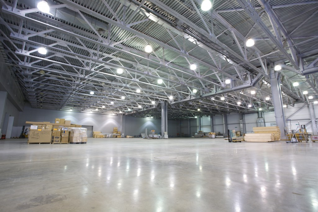 industrial lighting should provide sufficient light in the right place
