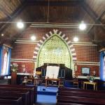 Church lighting installation at Hartpury Methodist Church
