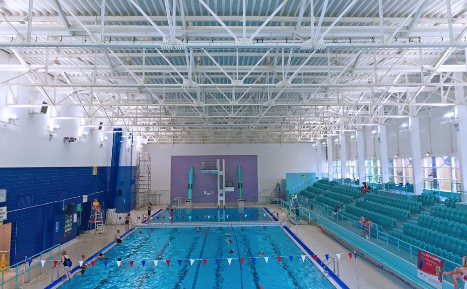 case study cheltenham swimming pool total lighting controls