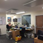New Office Lighting for Brushdale Environmental of Dursley
